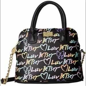 Betsey Johnson Darcy Satchel NWT